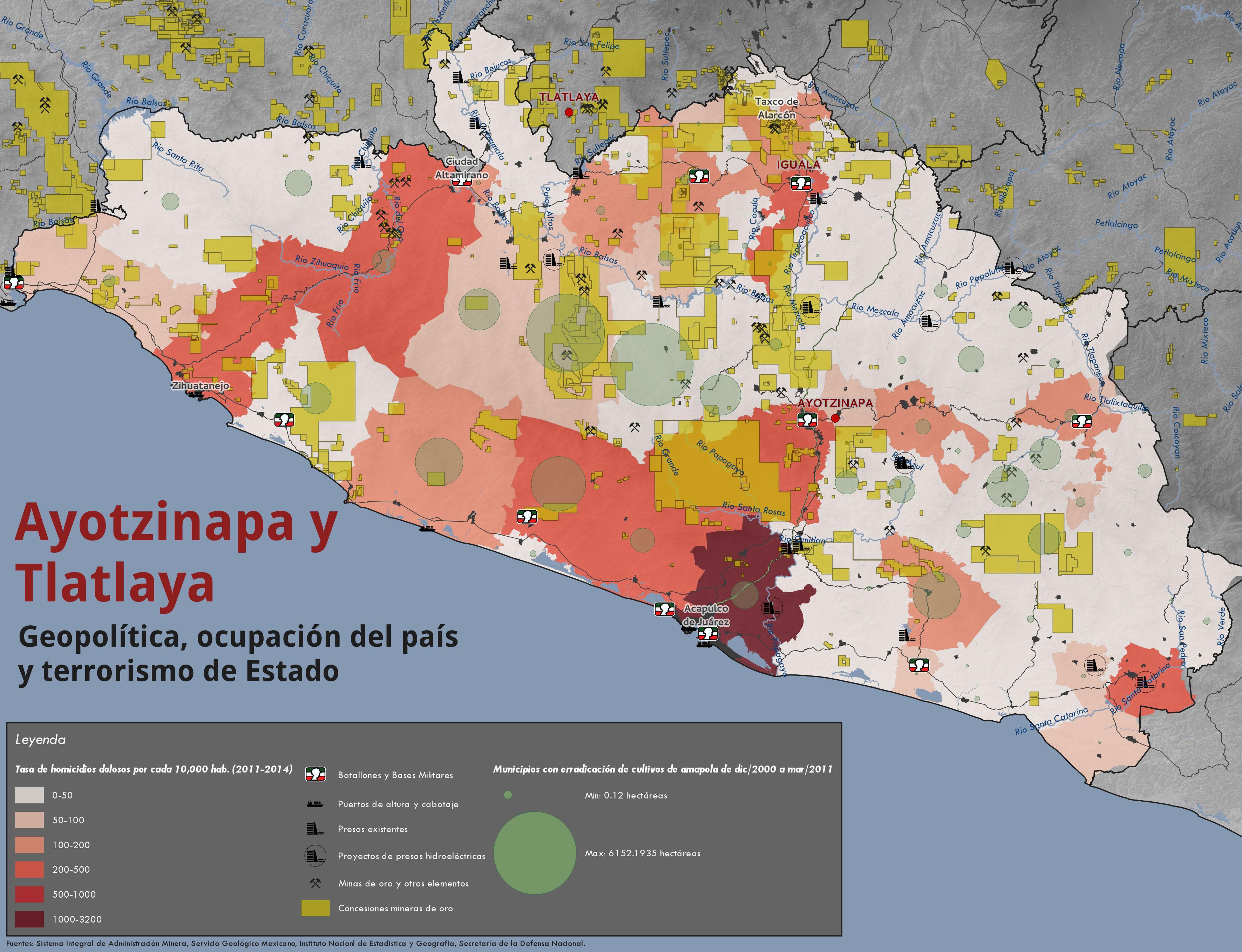 Ayotzinapa y Tlatlaya: Geopolítica, ocupación del país y terrorismo de Estado.