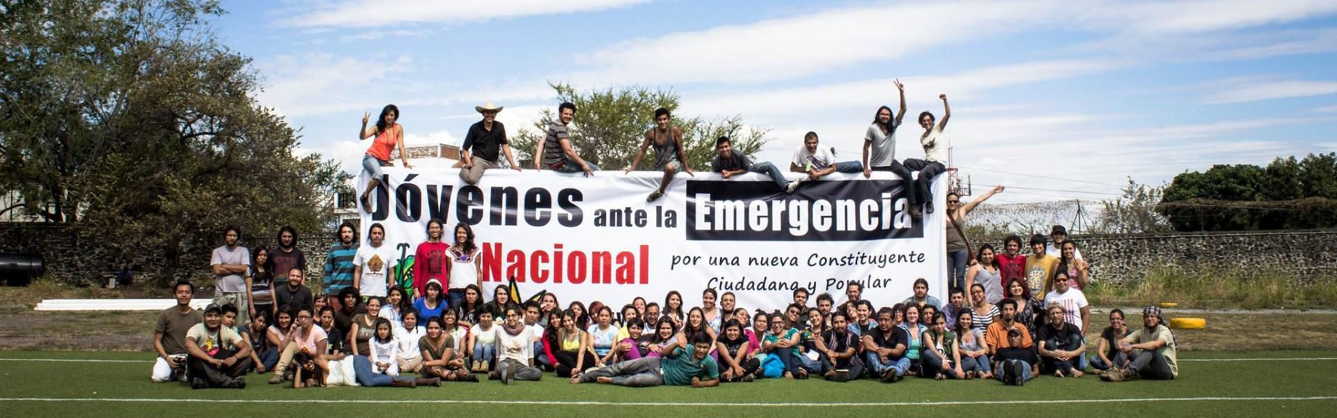 Jóvenes ante la Emergencia Nacional